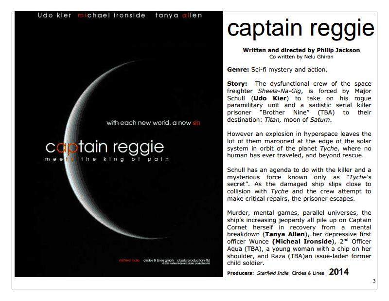 Captain Reggie Synopsis screenshot